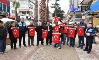 Tüm Karasu Türk Bayraklarıyla Donatıldı