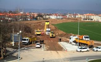 Yeni stadyuma yeni duble yollar geliyor