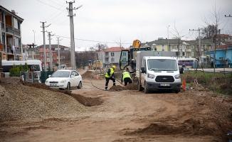 Karasu'da 6 mahalleye yeni içmesuyu şebekesi