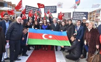 Karasu'da Hocalı Parkı Açılışı Yapıldı