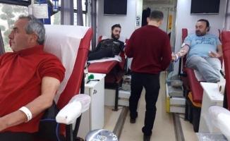 Ülkücüler'den kan bağışı kampanyası