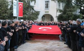Dua ordusundan Afrin'deki askerimize destek