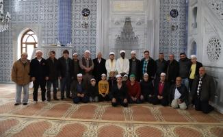 Karadeniz'de bir takım ziyarette bulundular