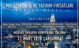 MÜSİAD'da Malezya Konuşulacak