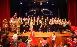 SGM'li minikler Çanakkale şehitlerini unutmadı