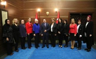 Türk Kadınlar Birliğinden Vali Balkanlıoğlu'na Ziyaret