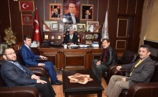 Yeni KYK Müdüründen Başkan İspiroğlu'na Ziyaret