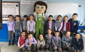 80 okulda 8 bin öğrenci Tomurcuk'la buluştu