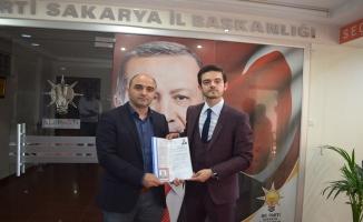AK Parti'de genç Avukat adaylık başvurusunda bulundu