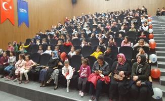 Akyazılı minikler Dünya Sağlık Günü'nü kutladı