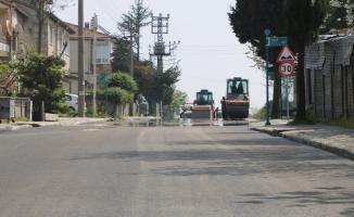 Erenler Yıldıztepe Caddesi yenilendi