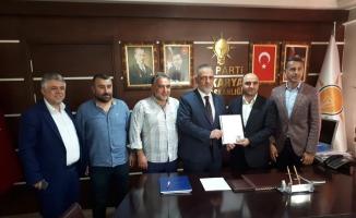 Hacıeyüpoğlu aday adayı oldu