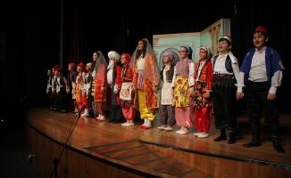 SGM'li minikler Nasrettin Hoca'yı sahneledi