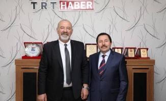 Vali Balkanlıoğlu, TRT Sakarya Temsilciliğini Ziyaret Etti.