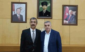 Bayraktar'dan Toçoğlu'na ziyaret