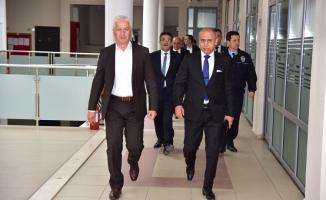 İl Emniyet Müdürü Fatih Kaya, Başkan İspiroğlu ile Bir Araya Geldi
