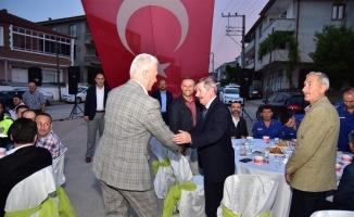 Karasu Belediyesi Şehit Ahmet Baş'ın Ruhuna İthafen İftar Programı Düzenledi