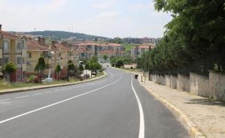 Büyükşehir Ferizli'de yolları yeniledi