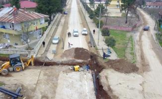 Karapürçek'te altyapının hemen ardından asfalt