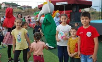 Karasulu Çocuklar Festivalde Coştu