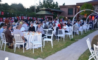 MHP'liler ve AK Partililer iftarda buluştu
