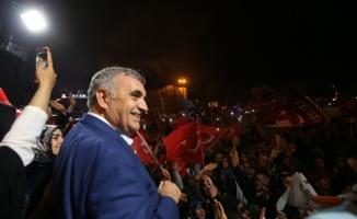 Sakarya 70,5'le Erdoğan dedi Teşekkürler Sakarya