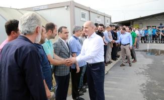Türkiye'ye örnek yatırımları hayata geçiriyoruz