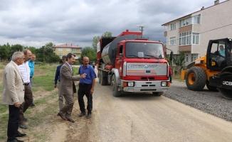 Yalı Mahallesinde asfalt çalışmaları başladı
