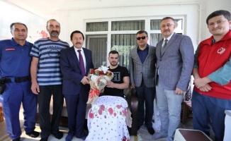 Balkanlıoğlu'ndan Muhtarlar ve Gaziye Ziyaret
