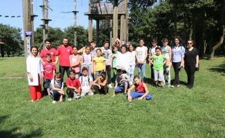 Kocaelili çocuklar Macera Park'ta buluştu