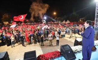 Sakarya Halkı 15 Temmuz Ruhuyla Demokrasi Meydanında Buluştu
