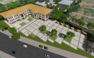 Şehir merkezine otopark 24 derslikli 2 yeni okul