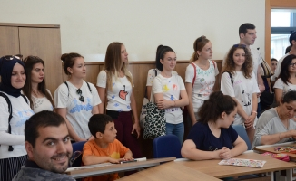 SGM yurt dışından gelen öğrencileri ağırladı