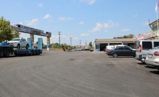 Karasu Sanayi Caddesi yenilendi