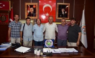 Olgunlar Futbol Turnuvası Komitesinden Teşekkür Plaketi