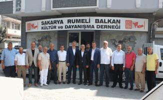 Rumeli Balkan'larda bayramlaşmada Birlik ve beraberlik mesajı verildi…
