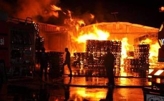Sakarya 1. OSB'de Yangın