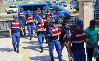 Temmuz Ayında Jandarma Tarafından Yakalanan 59 Kişi Tutuklandı