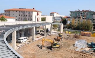 Karasu'nun yeni merkezi yükseliyor