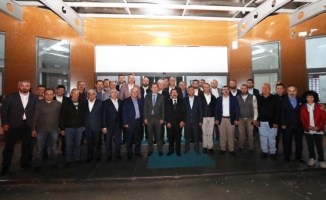 MÜSİAD Sakarya Şubesi Vali Balkanlıoğlu Onuruna Veda Programı Düzenledi