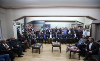 Trabzonlulardan Toçoğlu'na anlamlı üyelik