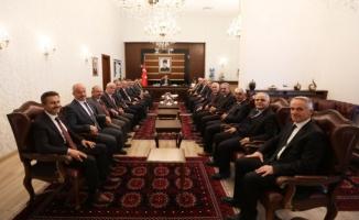 Vali Nayir'e Tebrik Ziyaretleri Sürüyor
