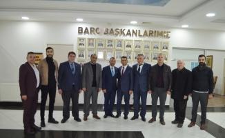 Osmanlı Ocakları 1299'dan Sakarya Barosu'na ziyaret