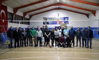 Voleybol Turnuvası'nda şampiyon Çevre Koruma