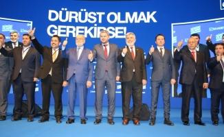 Karamollaoğlu; Abidin Birinci'yi Ankara'dan tanıttı