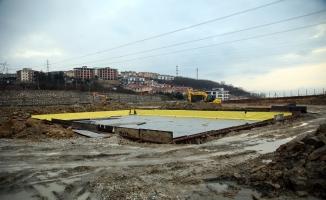 Şehrin yeni laboratuvarı için çalışmalar başladı