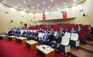 Vali Nayir il koordinasyon kurulu 4. toplantısında başkanlık etti