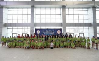 ''Yüzme Bilmeyen Kalmasın Projesi'' Dönem Kapanış Programı Düzenlendi