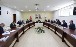 Seçim Güvenliği Toplantısı Vali NAYİR Başkanlığında yapıldı