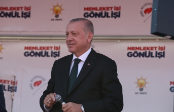 Toçoğlu tarihi mitingde konuştu